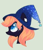 Witchling Pony Headshot by Miniaru