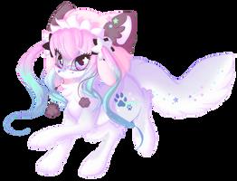 Arctic Fox Pony by Miniaru