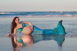 Pregnant_Mermaid03 by hyuugahinata-stock
