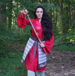 Mulan Warrior (5) by hyuugahinata-stock
