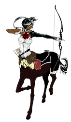 Momonsu Centaur by ScriptedIllusion
