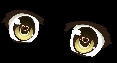 Kaga Koko Eyes. by ScriptedIllusion