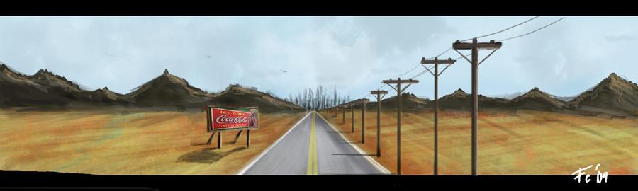 Vanish Road by CarabARTS