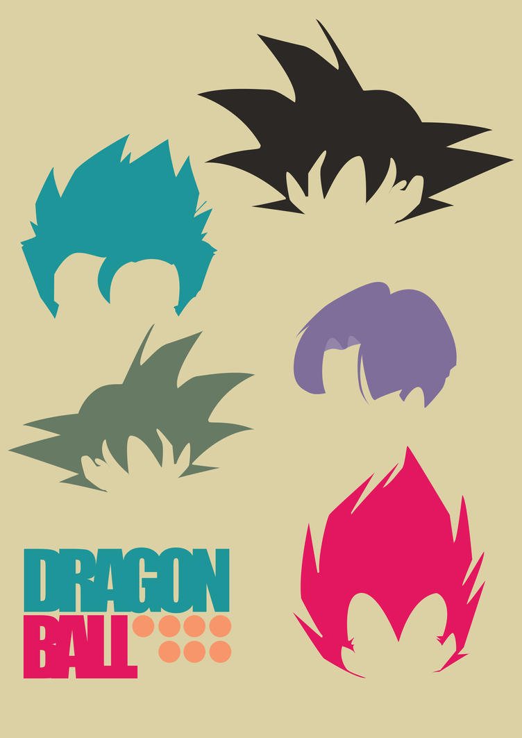 DB Hair styles poster by CarabARTS on DeviantArt