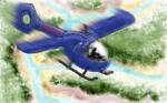 BioSyn Airplane