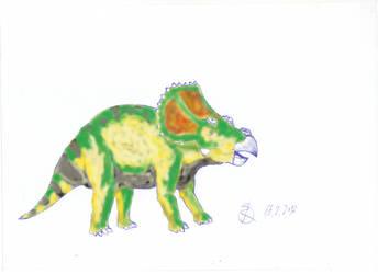 Triceratops (Col-WIP) by Isla-Nublar-Crew