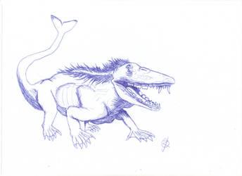 Paleowhale Hybrid by Isla-Nublar-Crew