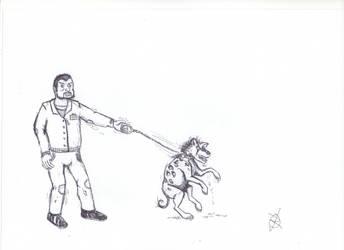 Hyena master by Isla-Nublar-Crew