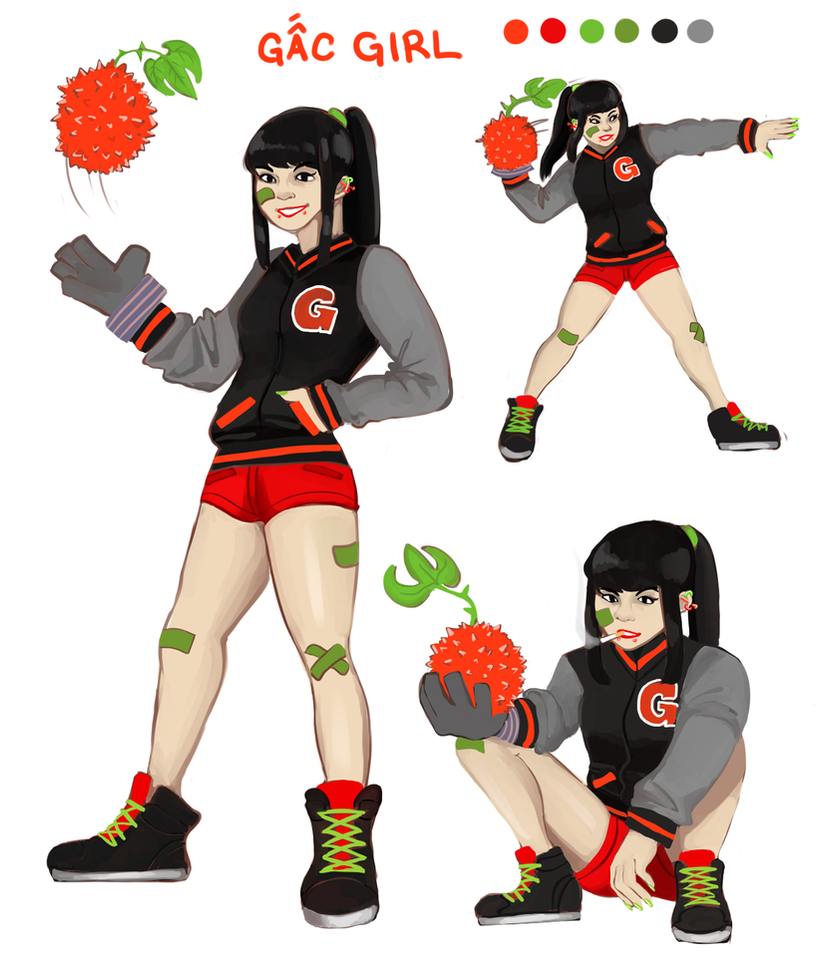 gac girl by PangoPango1