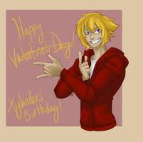 Happy Valentine's- I mean Birthday!