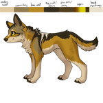 Bailee the Mexican Wolf reference