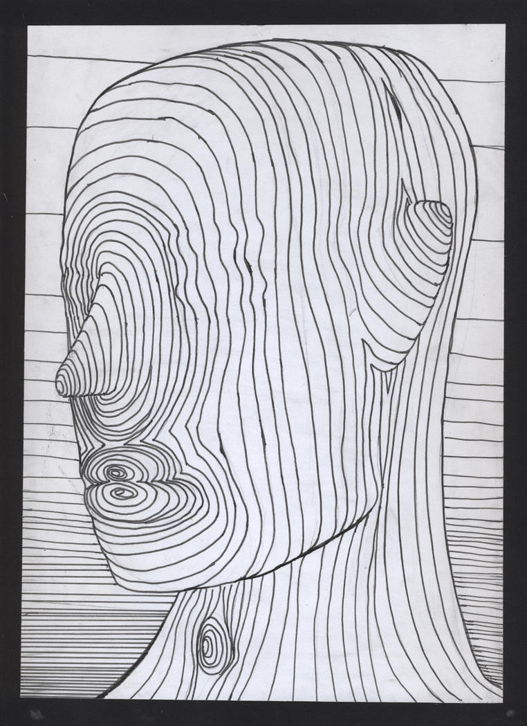 Contour Line Drawing Demo : Contour line drawing by texas momo on deviantart