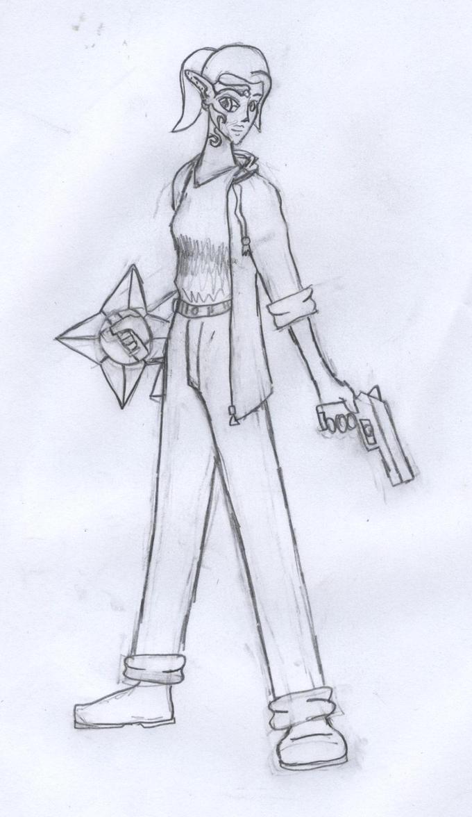Kira Moonblade by Texas-Momo
