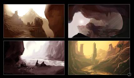 Western on Mars by Ekwal