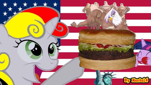 Sweetie Belge - USA Hamburger