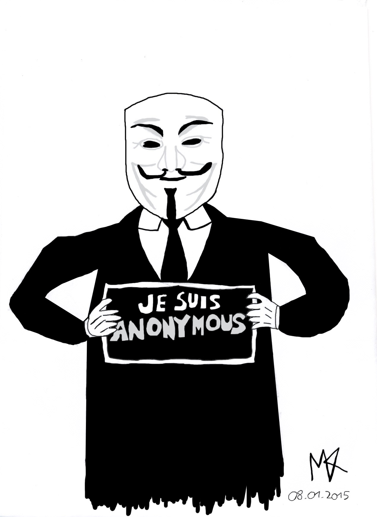 Je Suis Anonymous by MrMental4