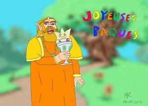 Happy Easter ! King Harkinian (F)Eat Togepi