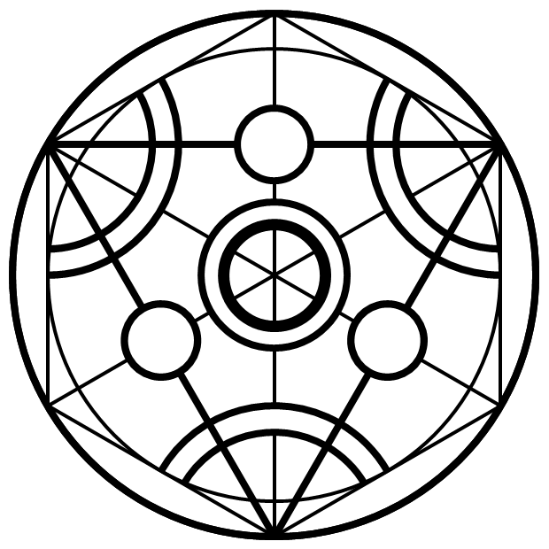 top basic alchemy transmutation circles images for