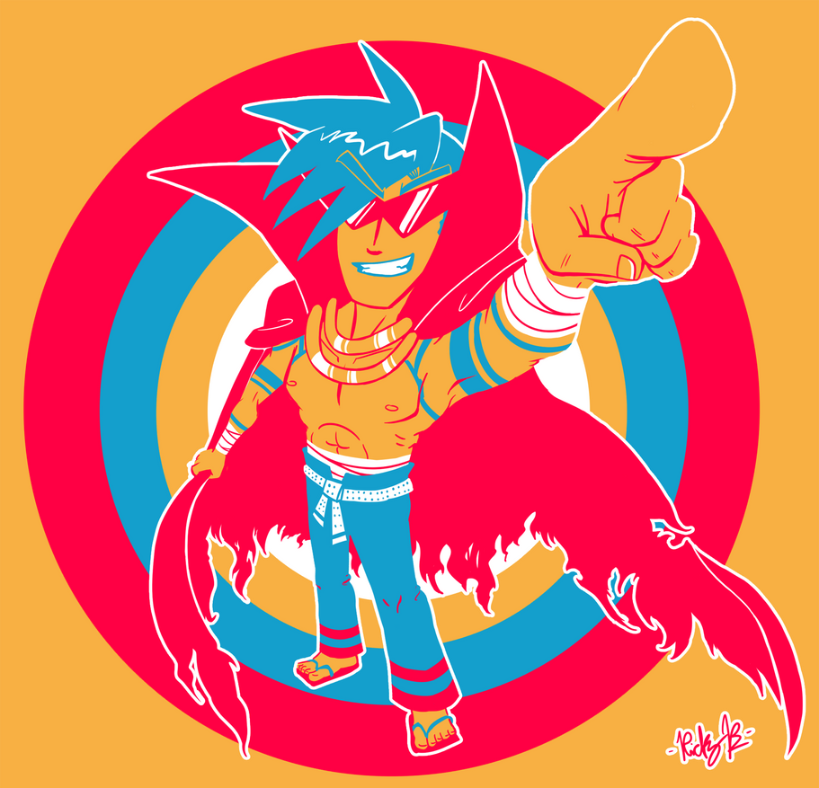 Bro Kamina by MetaKnuckles