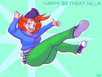 Happy Birthday Nilla