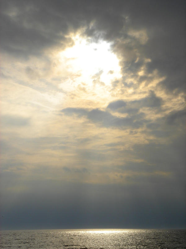 Stock 012: sea under sunshine