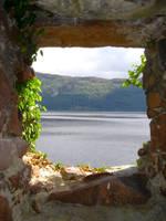 Stock 204: Loch Ness window by AlzirrSwanheartStock