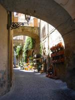 Stock 227: Orvieto Street by AlzirrSwanheartStock