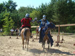 Stock 496: mounted knights