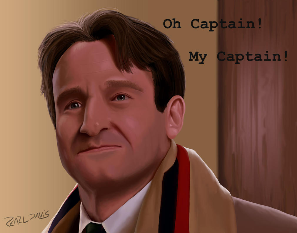 Oh Captain! My Captain! by THEAT0M1KMONKEY