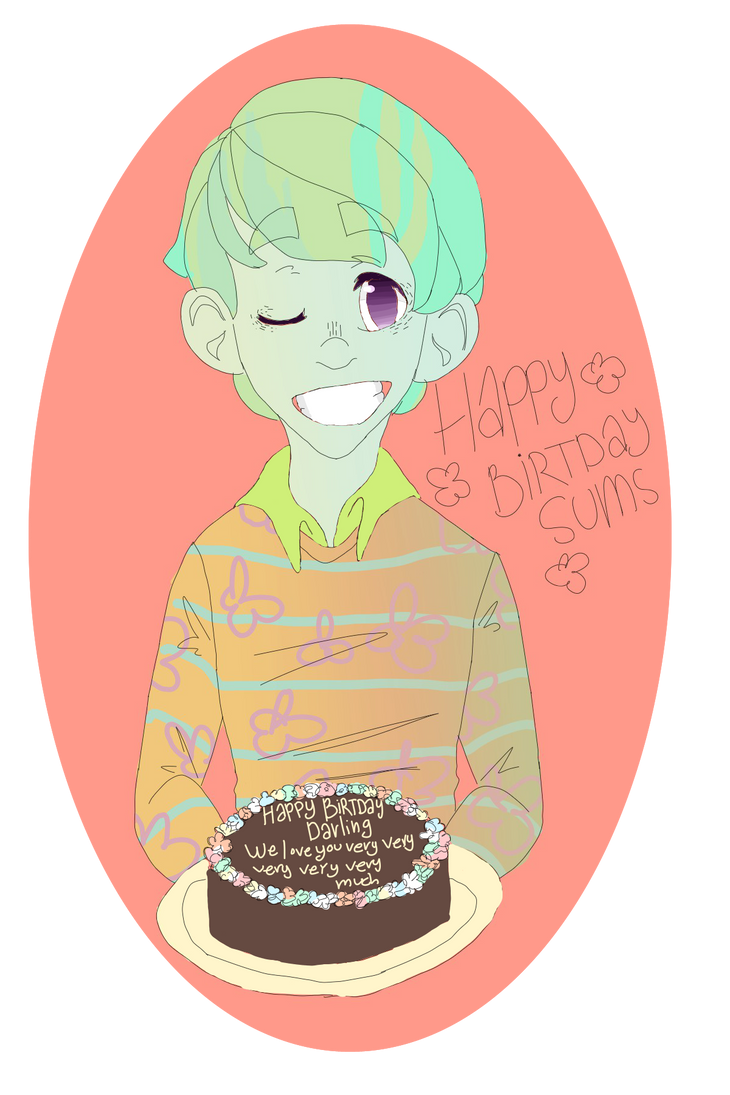 Happy Birthday Sums!! by flowerrot