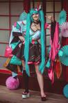 Hatsune Miku Magical Mirai 2020 cosplay