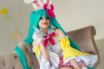 Hatsune Miku Easter - vocaloid cosplay