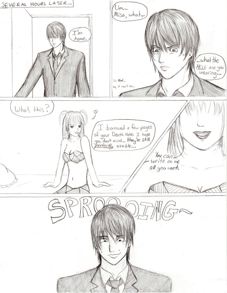 DN Doujin: Misa Wins - page 2 by HonouMiko