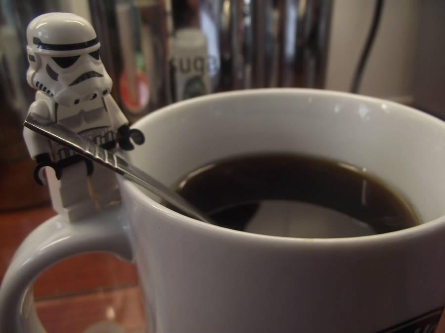 Lego: A Cup Of Coffee by Jennatrixx