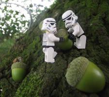 LEGO: Down By The Acorn Tree by Jennatrixx