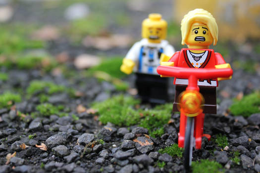 Lego: Learning How To Ride My Bike