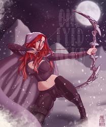 Commission: Cydney by OneEyedNeko