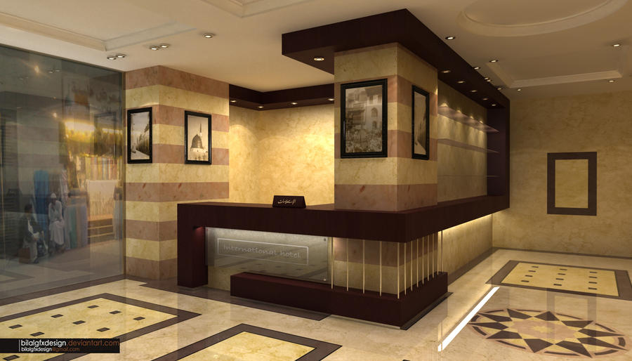 Hotel reception 2 by bilalgfxdesign on deviantart for Design hotel reception