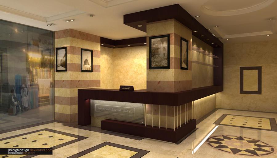 Hotel reception 2 by bilalgfxdesign on deviantart for Reception design hotel