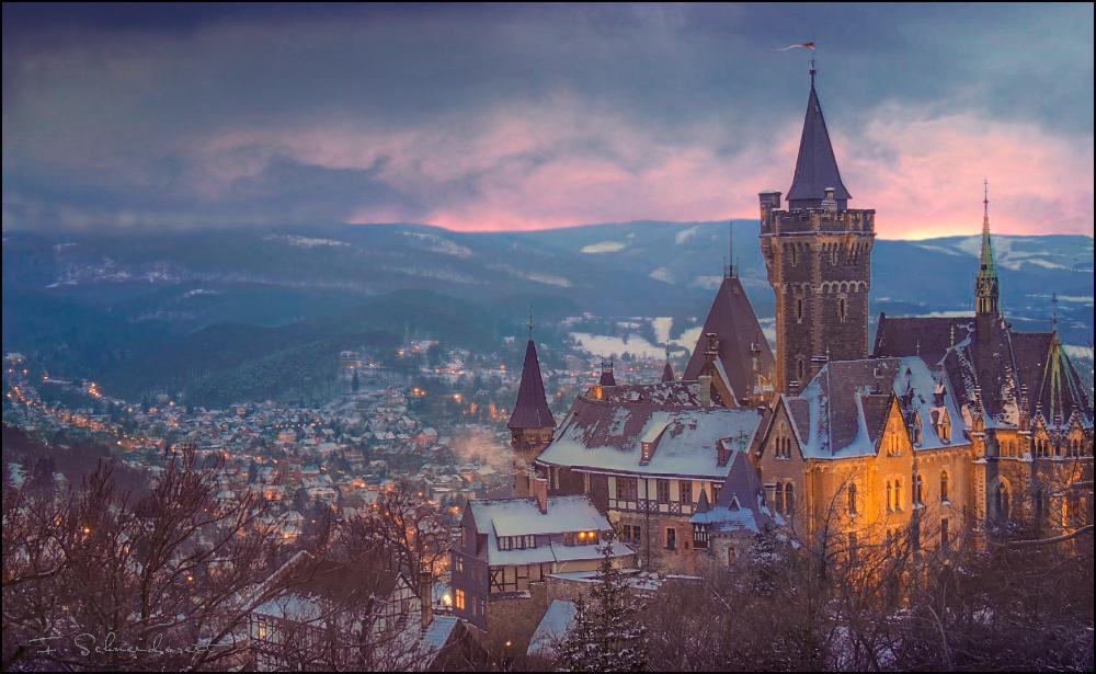 Wernigerode Castle (Germany) by Schneidereit