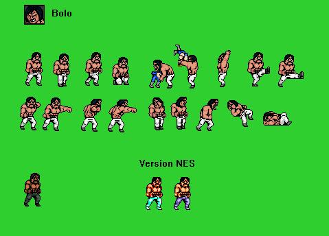 Sprite Double Dragon Enemie Boss Bolo By Luis Mortalkombat14 On Deviantart