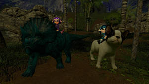 Animal backride