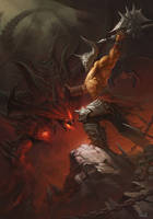 End day of Diablo by YanmoZhang