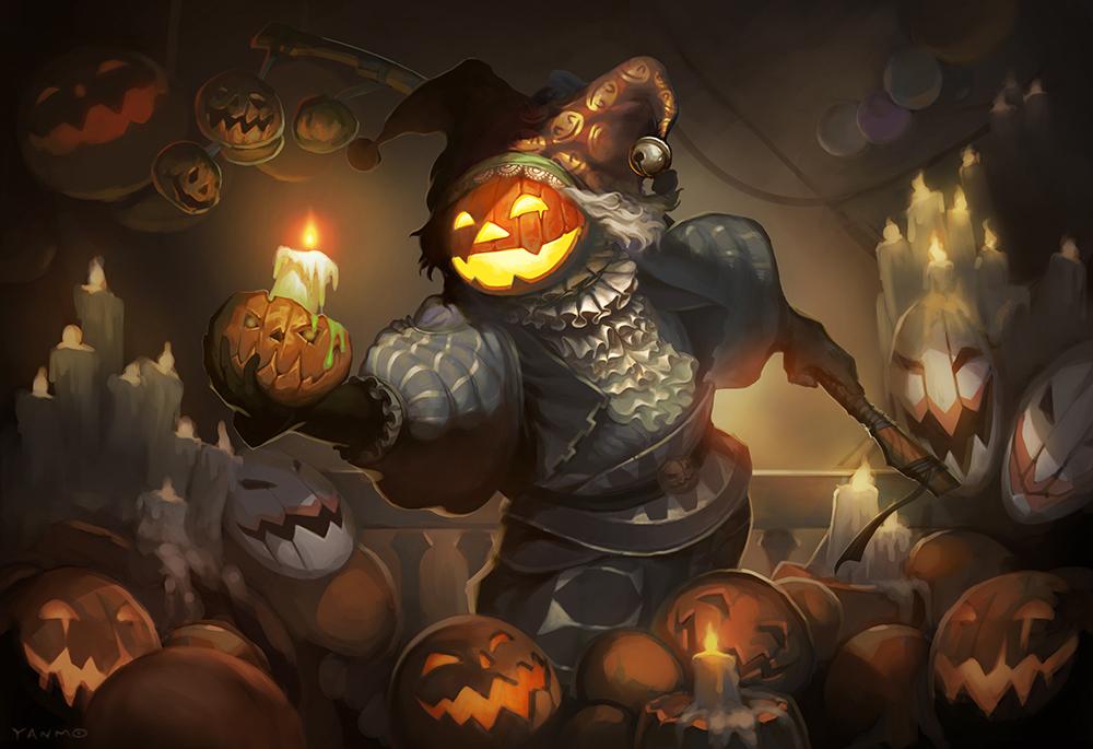 Pumpkins by YanmoZhang