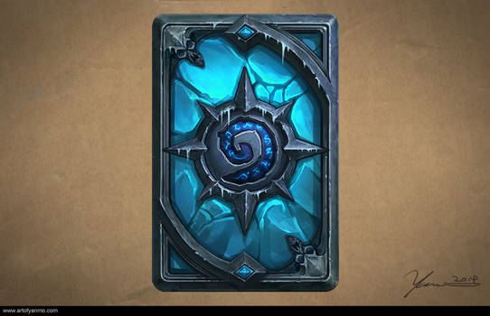 Card Back Design of Hearthstone, The Lich King