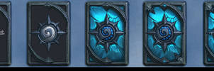 Painting Step of Lich King Card Back