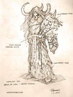 Design for Warlock - Bane of Iron by YanmoZhang