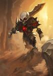 Mini Skull Swordsman