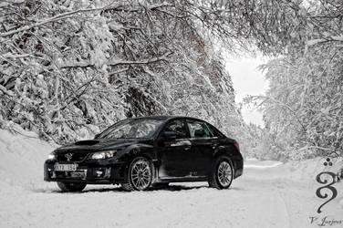 Subaru Impreza WRX STI 2011 -3 by xAxPhoto