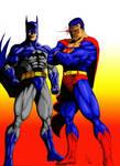 Superman and Batman (color 2)